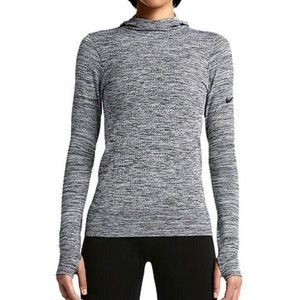 Nike Pro Dri Fit Hyperwarm Limitless Hoodie Sz M